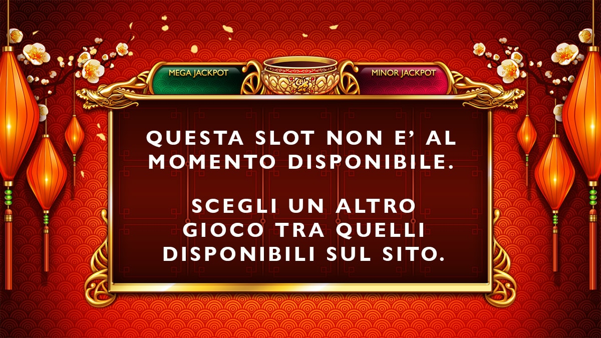 SLOT NON DISPONIBILE